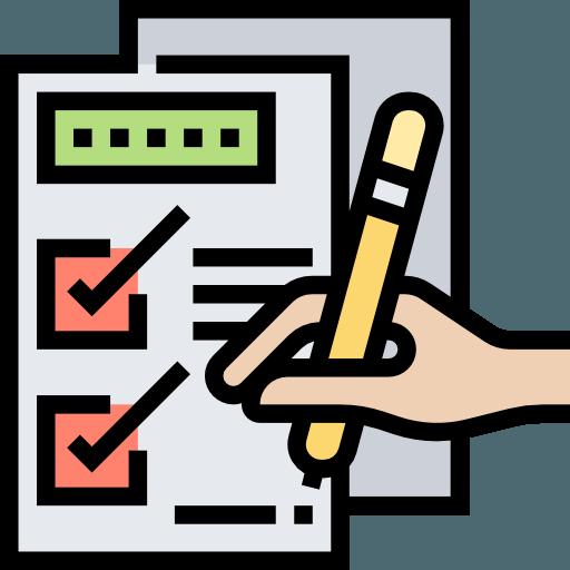 Icône check-list