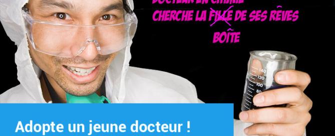 Photo docteur en chimie