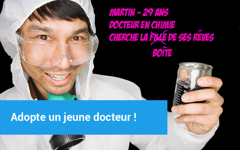Photo docteur en chimie