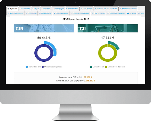 Mockup plateforme SELF & INNOV