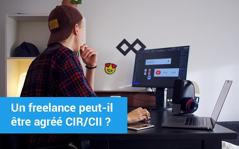 freelance agréé CIR/CII