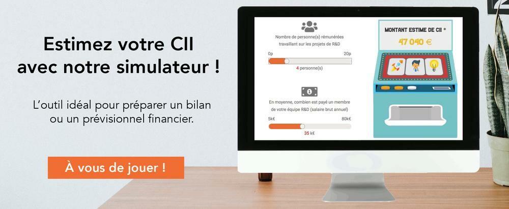estimation CII